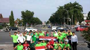 Komunitas LibuRun Adakan Acara Pekanbaru Running Tour 2017
