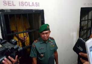 Oknum Tentara Pemukul Anggota Polantas Sudah Ditahan