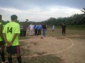 Hari Pertama Cuti, Firdaus Buka Tournament Mini Soccer