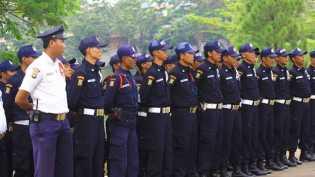 Satpam di Sekwan Riau Mogok Kerja