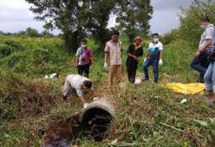 Polresta Pekanbaru Bakal Lakukan Tes DNA untuk Pastikan Identitas Mayat Wanita di Gorong-gorong