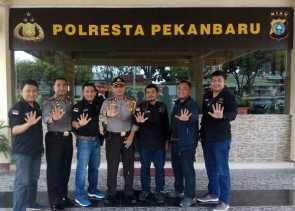 Polresta dan PWI Kota Deklarasi Anti Hoax