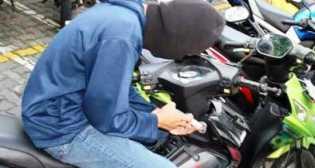 Motor Yumin Hilang di Parkiran Samsat Pelalawan