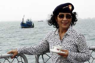 Menteri Susi Akan Tenggelamkan 90 Kapal Pencuri Ikan