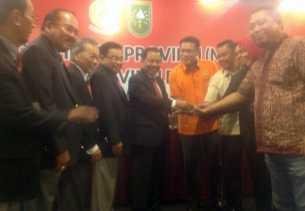 Musprov KONI Riau, Pendukung IDE Pimpinan Sidang