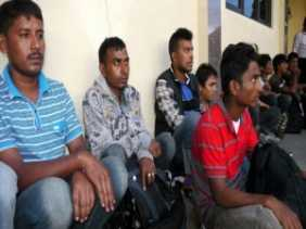 Niat ke Malaysia, 14 Orang Warga Asal Bangladesh Ditelantarkan Supir di Tengah Jalan
