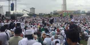 Peserta Doa Bersama Meluber Hingga ke Lenggang Jakarta dan Lapangan IRTI