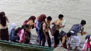 Lecehkan Siswi TK di Dalam Pompong, Seorang Kakek di Inhil Dipenjara