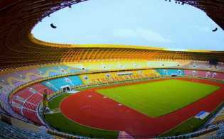 Selasa Sore PSPS Latihan Perdana di Stadion Utama Riau