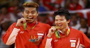 HUT RI, Tontowi-Liliyana persembahkan medali emas di Olimpiade