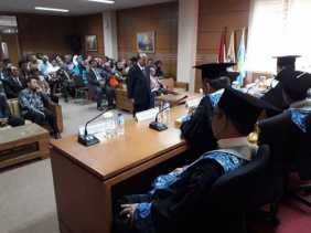 Raih Doktor dengan Cumlaude, Chaidir Paparkan Pengaruh Budaya Organisasi Atas Kinerja DPRD