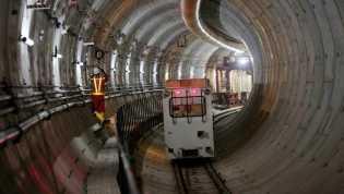 Presiden Jokowi: Seluruh Terowongan MRT Sudah Tersambung