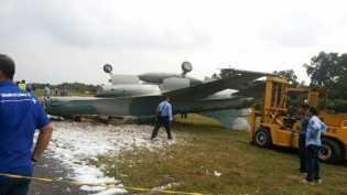 Biaya Perbaikan Pesawat F16 yang Terbalik di Lanud Pekanbaru Rp 25 Miliar
