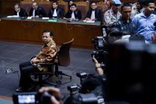 Setya Novanto dihukum 15 tahun, denda Rp 500 juta, dicabut hak politik 5 tahun
