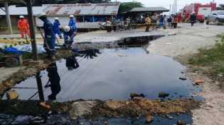 Waduh Pipa PT Chevron Kembali Bocor