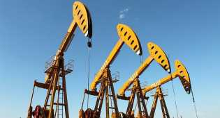 Harga minyak dunia anjlok di bawah USD 45 per barel