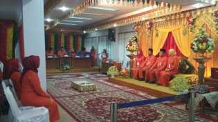 Syamsuar-Edy Natar Nasution Dijadwalkan Daftar Hari Ini, KPU Riau Gladi Bersih Senin Pagi