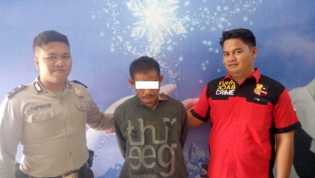 Sebulan Jadi Buron, Pria Asal Kampar yang Hamili Anak Tiri Akhirnya Tertangkap