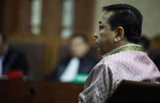 Sidang korupsi E-KTP: Setya Novanto tak lagi sebut Puan Maharani dan Pramono Anung