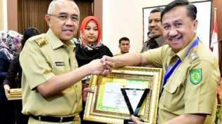 Inhil Terima Penghargaan APN ke-2 Tingkat Provinsi