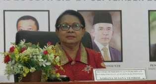 Yohana Dipanggil Presiden ke Istana Untuk Mengecek Perkembangan Kinerjanya