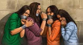 4 Kurir Penyelundup TKI Ditangkap