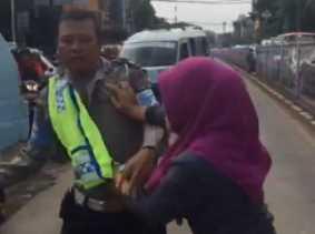 Wanita Pencakar Polisi Itu Kini Diperiksa Pengawas MA