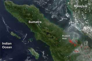 BMKG Deteksi Tiga Titik Panas di Riau