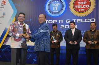 BRK Raih Award Corporate Best Practice IT 2016