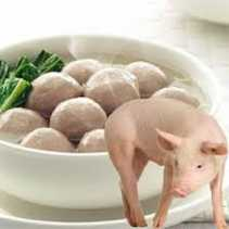 Distanak Pekanbaru Tegur Warung Bakso Terkontaminasi Daging Babi