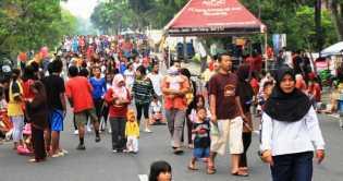 CFD Minggu Depan Kembali Dibuka, Lokasi PKL Ditata Ulang