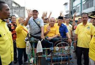 Arsyadjuliandi Rachman dan Syamsudin Uti Kampanye Bersama di Tempuling