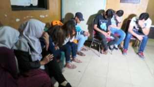 Razia di Lapangan PCR Rumbai, 2 Imigran Afghanistan Diangkut Petugas