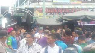 Pedagang di Duri Nyatakan Dukungan Untuk Firdaus-Rusli Maju Riau Satu