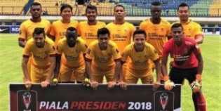 Bungkam PSMS, Sriwijaya FC Juara 3 Piala Presiden 2018