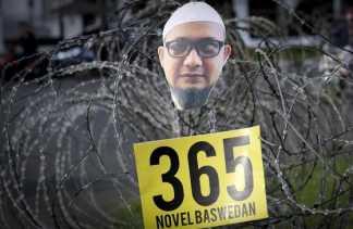 'Kasus Novel Baswedan Kerikil di Sepatu Jokowi di Pilpres'