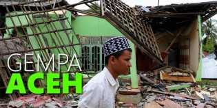 Gempa Aceh, Rumah Rusak 1.267 Unit