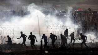 4 Warga Palestina Tewas Ditembak Israel di Perbatasan Gaza