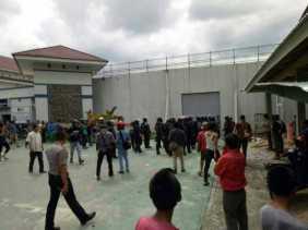 Kapolresta: Baru 202 Tahanan Diamankan, Masih Ada Sekitar 100 Tahanan Berkeliaran