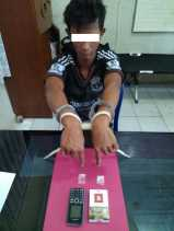 Tahanan LP Bangkinang Ketahuan Simpan 2 Paket Shabu