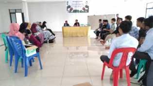 HMI Pekanbaru Taja Pelatihan Jurnalistik Tingkat Dasar