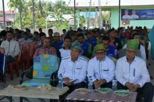 Janji Jadikan Rupat Utara Pusat Pariwisata Perwakilan 10 Desa Hadiri Kampanye Dialogis Firdaus-Rusli