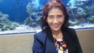Menteri Susi Sambangi Danau Sunter, Cek Kondisi Air
