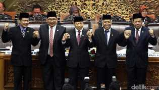 Jumlah Kursi Pimpinan DPR Menjadi 6, Tambahan Diberikan untuk PDIP