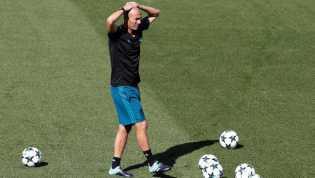 Madrid Kalah, Zidane Terima Disalahkan