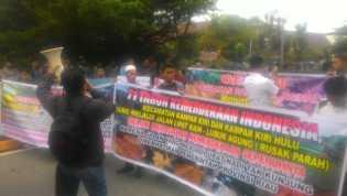 Ajukan Tiga Tuntutan, GERAM Demo di Kantor DPRD Riau