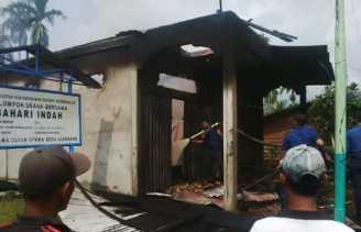 Dua Kios di Bengkalis Hangus di Lahap Api