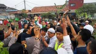 Kepala Arifin Bocor, Kampanye Ahok Nyaris Bentrok