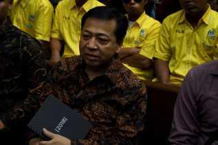 Meski Ajukan Justice Collaborator, Novanto Tetap Tak Merasa Bersalah