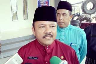 Dugaan Korupsi di Dispora Riau, Doni Aprialdi Datangi Pidsus Kejati